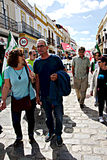 Demonstração em Marchena Sevilha 6 Imagens de Stock Royalty Free