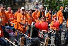 Demonstração no dia de maio foto de stock