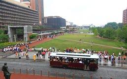 Demonstração pacífica em Philadelphfia Imagens de Stock Royalty Free