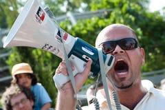 demonstraci wschodniej jerozolimy solidarność Zdjęcia Stock