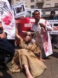 demonstraci zwierzęca opieka społeczna Obraz Stock