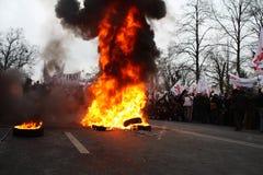 demonstracja Zdjęcie Royalty Free