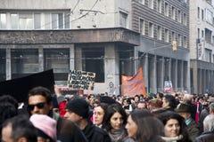 demonstracja Zdjęcia Stock