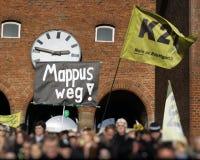 demonstracja k21 Stuttgart Obraz Royalty Free
