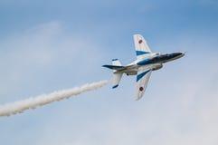 Demonstracja loty Błękitny bodziec Obraz Royalty Free