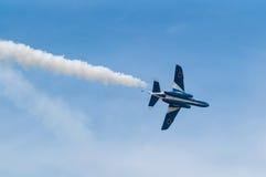 Demonstracja loty Błękitny bodziec Obraz Stock