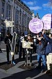 Demonstracja w imieniu PODEMOS 2 Obraz Stock