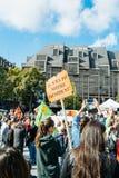 Demonstranci protestuje przeciw Tureckiemu prezydentowi Erdogan polic Obraz Stock
