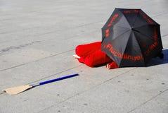 Demonstratie stock foto