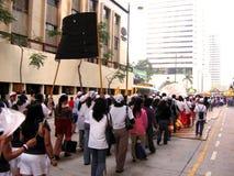 Demonstratie Stock Fotografie