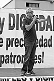 Demonstratie in Marchena Sevilla 16 Stock Fotografie