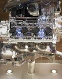 Demonstratie van de nieuwe motor Royalty-vrije Stock Fotografie