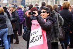 Demonstration Stock Image