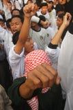 Demonstration agains die Festnahme von baasyir Lizenzfreie Stockfotografie