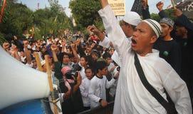 Demonstration agains die Festnahme von baasyir Lizenzfreie Stockbilder