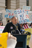 Demonstration against Immigration Bill in Atlanta Stock Images