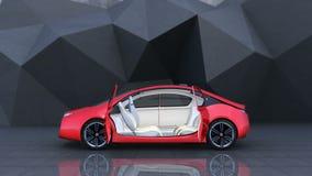 Demonstration of autonomous electric car