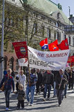 Demonstration. In Bergen in Norway Royalty Free Stock Images