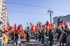 Demonstration in Berlin Royalty Free Stock Image