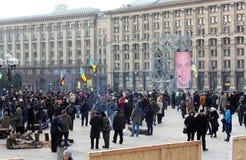 Demonstration des Gedächtnisses der Helden Lizenzfreie Stockbilder