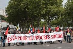 Demonstration för den arbets- dagen Royaltyfri Fotografi