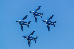 Demonstration Flights of Blue Impulse Royalty Free Stock Photos