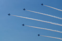 Demonstration Flights of Blue Impulse. 