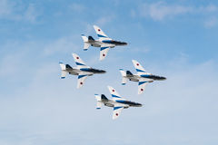 Demonstration Flights of Blue Impulse Stock Photography