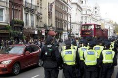 Demonstration i London Royaltyfria Bilder