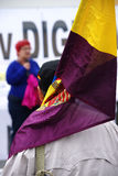Demonstration in Marchena Sevilla 18 Lizenzfreie Stockfotos