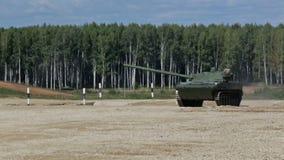 Demonstration of military equipment stock video