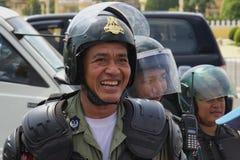 Demonstration in Phnom Phen Lizenzfreie Stockbilder