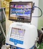 Mechanical ventilation equipment. Demonstration of working of mechanical ventilation equipment Stock Photos
