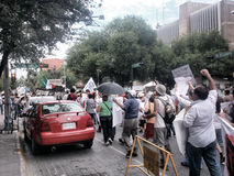 Demonstrationszug 132 Stockfoto