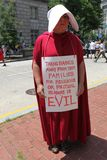 Demonstrationszug in DC stockbilder