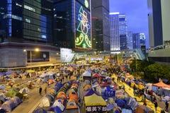 Demonstre em Hong Kong fotografia de stock royalty free