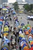 Demonstre em Hong Kong imagens de stock royalty free