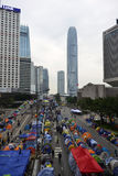 Demonstre em Hong Kong fotos de stock