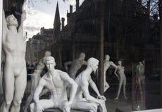Demonstreer een sportenwinkel mannequins Royalty-vrije Stock Fotografie