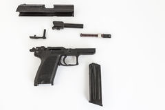 Demontujący pistolet fotografia royalty free