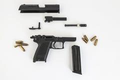 Demontujący pistolet zdjęcia royalty free