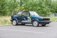 Demontujący samochód Fotografia Stock
