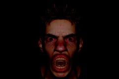 demonu ciemny portret Zdjęcia Stock