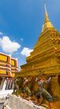 Demonu strażnik Wata Phra kaew Uroczysty pałac Fotografia Royalty Free