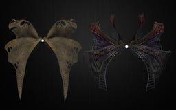Demonów skrzydeł paczka 2 Obrazy Royalty Free