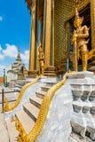 Demonwacht van het Grote Paleis van Wat Phra kaew Stock Foto