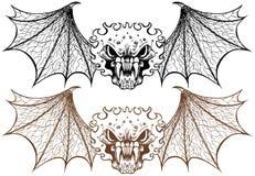 demony oskrzydleni Obraz Stock