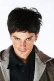 demony złe oczy wygląda człowiek Obrazy Stock