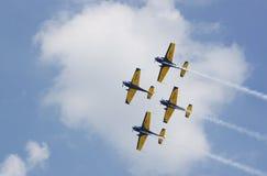 Demostración aérea Foto de archivo libre de regalías