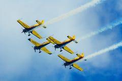 Demostración aeronáutica 2013 de Bucarest Imagen de archivo